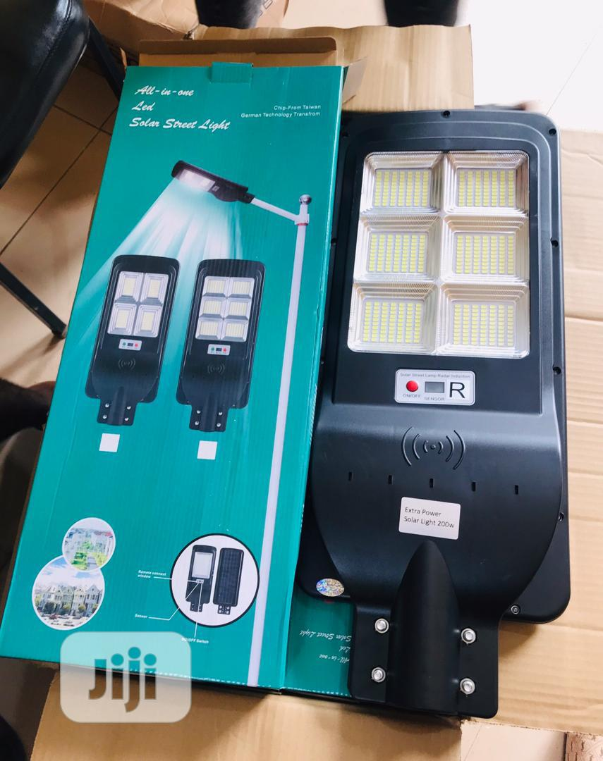 200watts Solar All In One Street Light