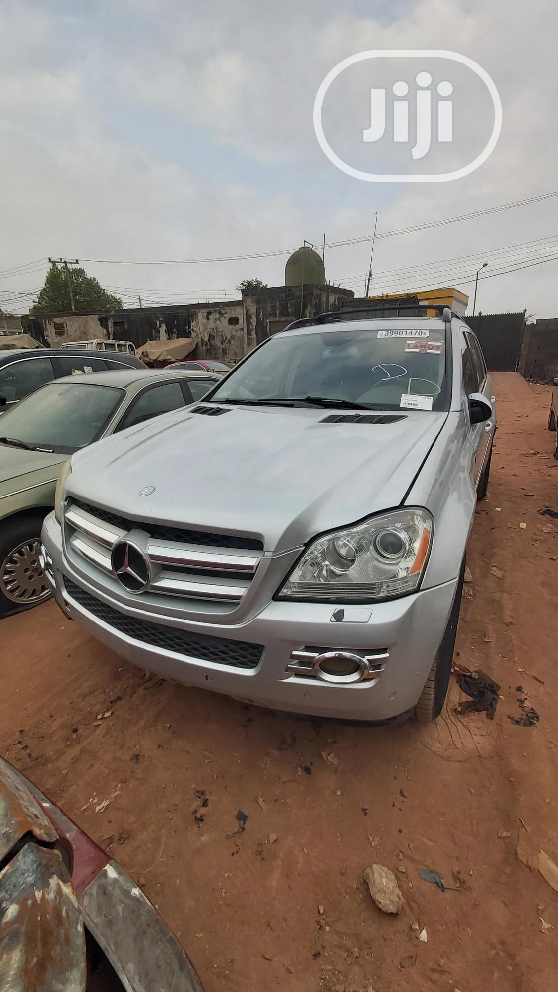 Mercedes-Benz GL Class 2007 GL 450 Silver   Cars for sale in Ikotun/Igando, Lagos State, Nigeria