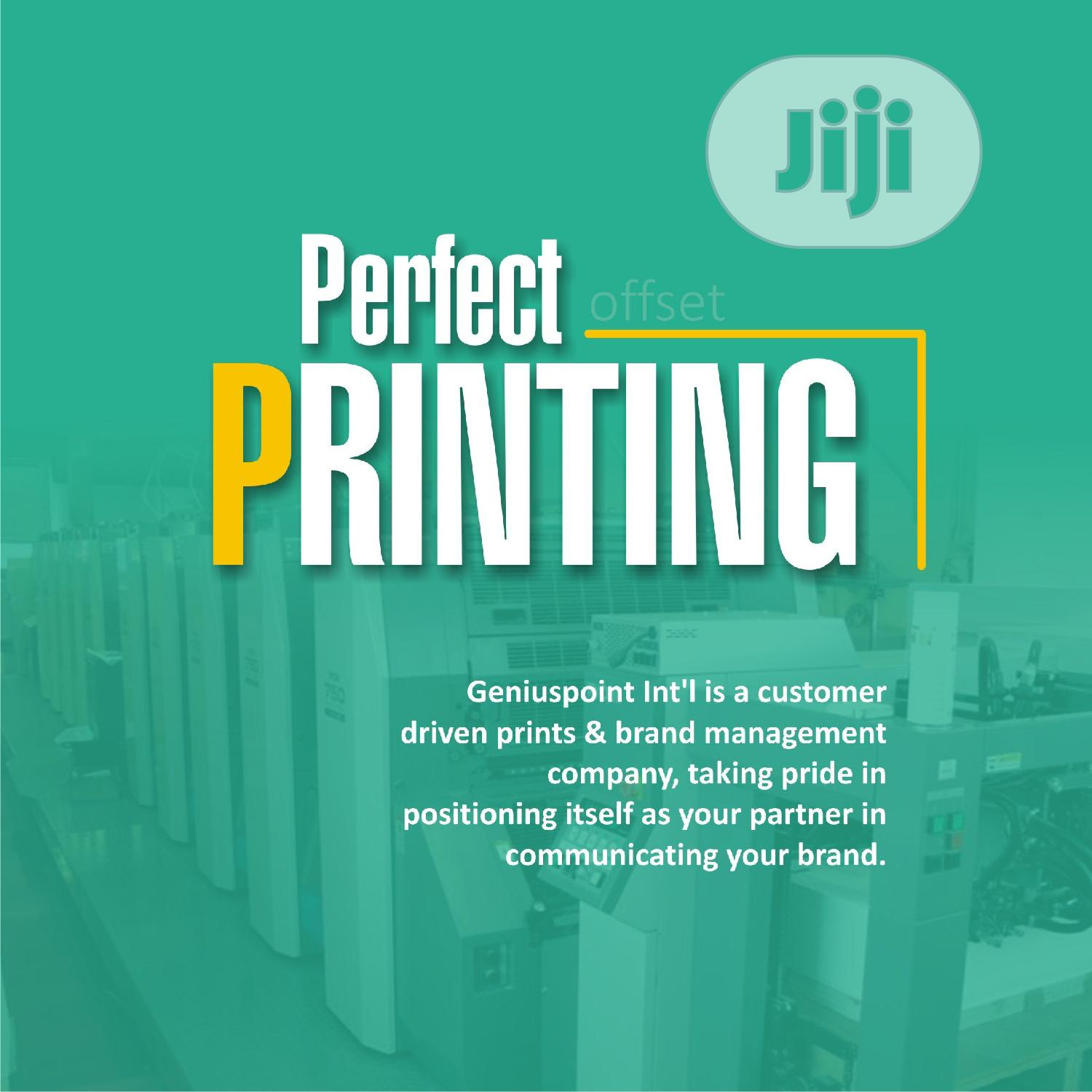 General Printing | Printing Services for sale in Agege, Lagos State, Nigeria