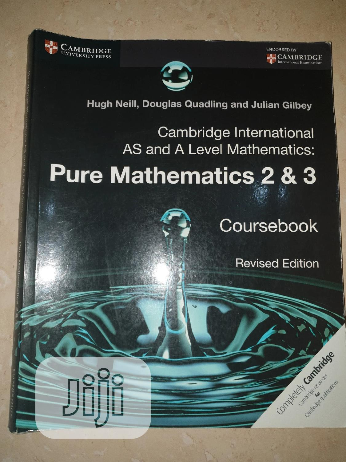 Archive: Cambridge International AS and a Level Pure Mathematics 2 3