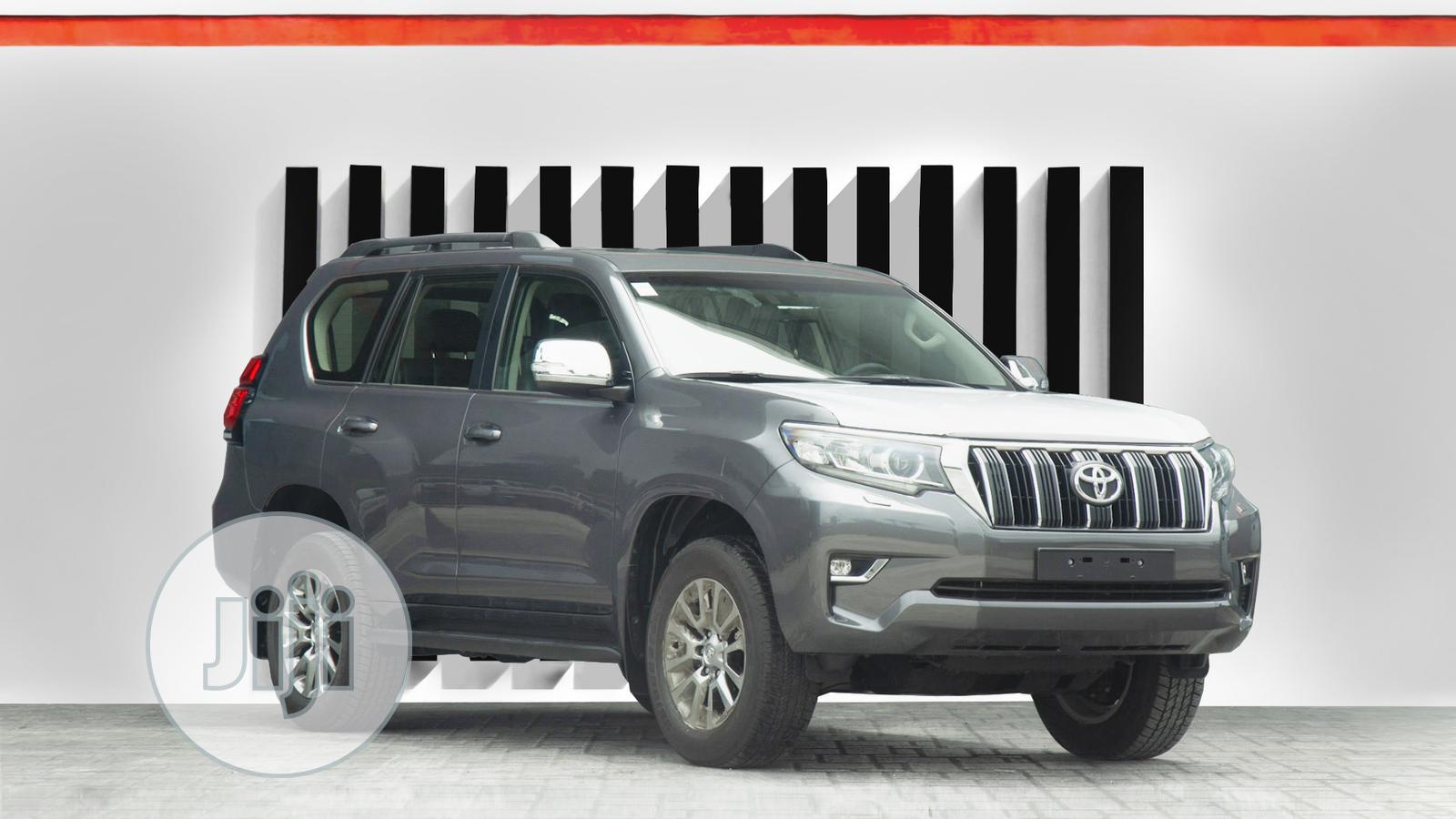 New Toyota Land Cruiser Prado 2020 Gray