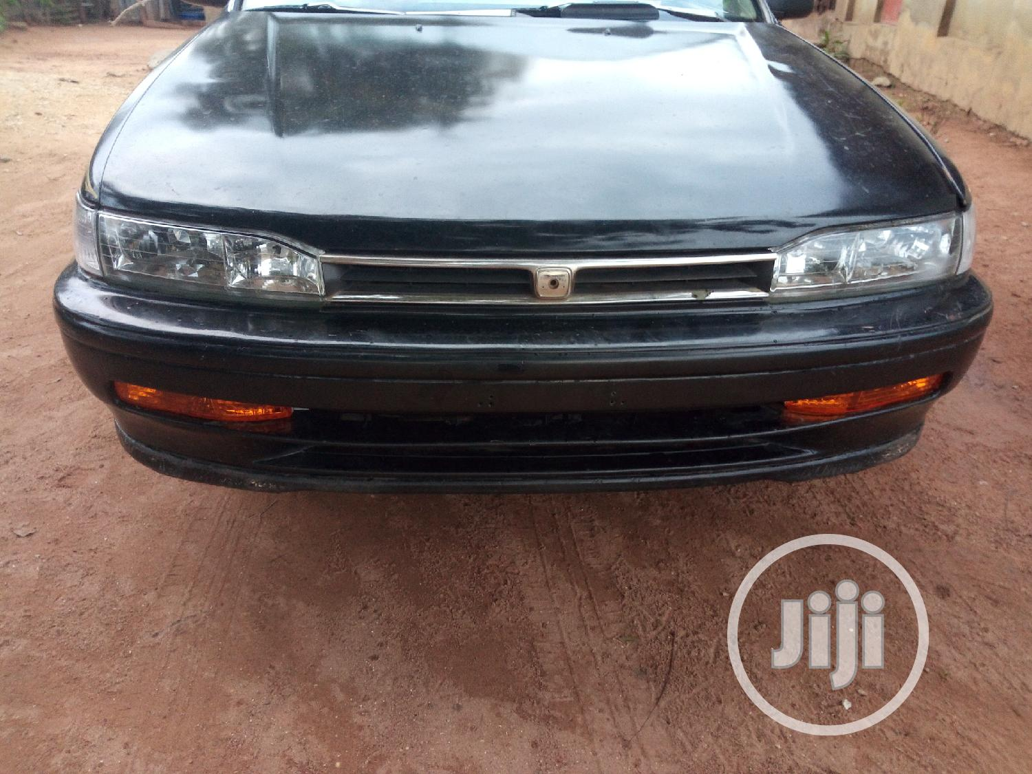 Honda Accord EX 1999 Black | Cars for sale in Orelope, Oyo State, Nigeria