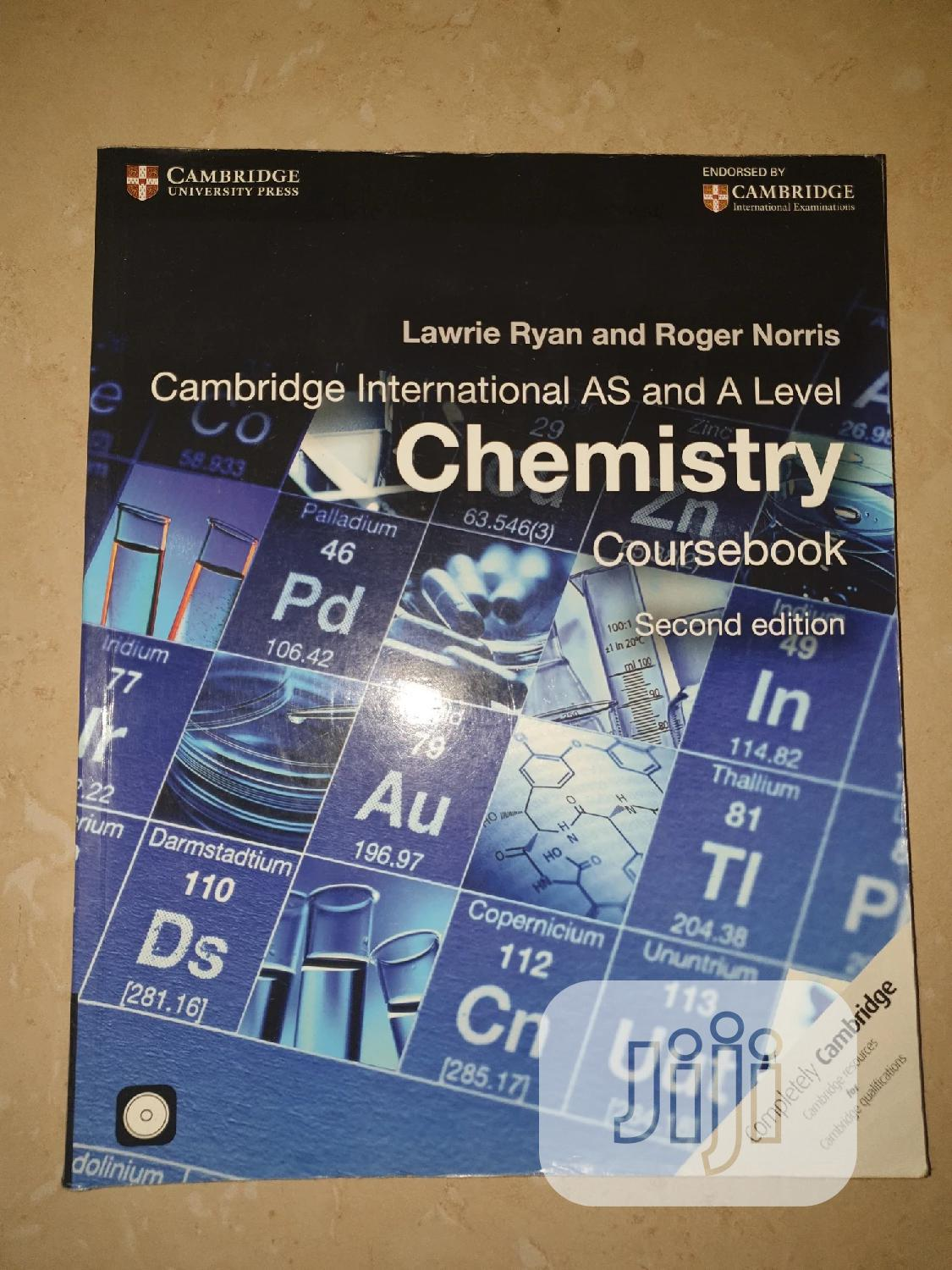 Archive: Cambridge International AS and a Level Chemistry Coursebook