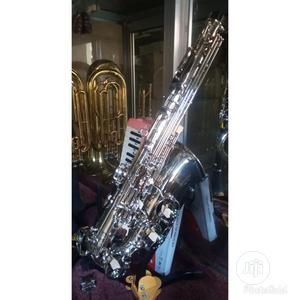 Vintage Silver Saxophone   Musical Instruments & Gear for sale in Lagos State, Ojo