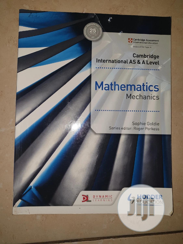 Archive: Cambridge International AS And A Level Mathematics Mechanics
