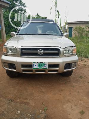 Nissan Pathfinder 2003 SE AWD SUV (3.5L 6cyl 4A) Gold | Cars for sale in Lagos State, Apapa