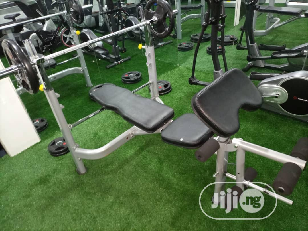 Archive: Brand New Commercial Weight Bench Available