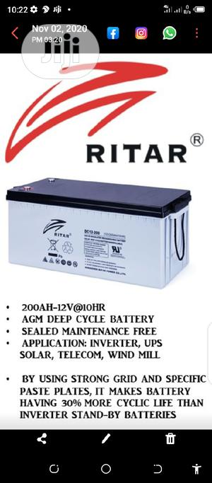 200a Rita Battery | Solar Energy for sale in Lagos State, Ojo
