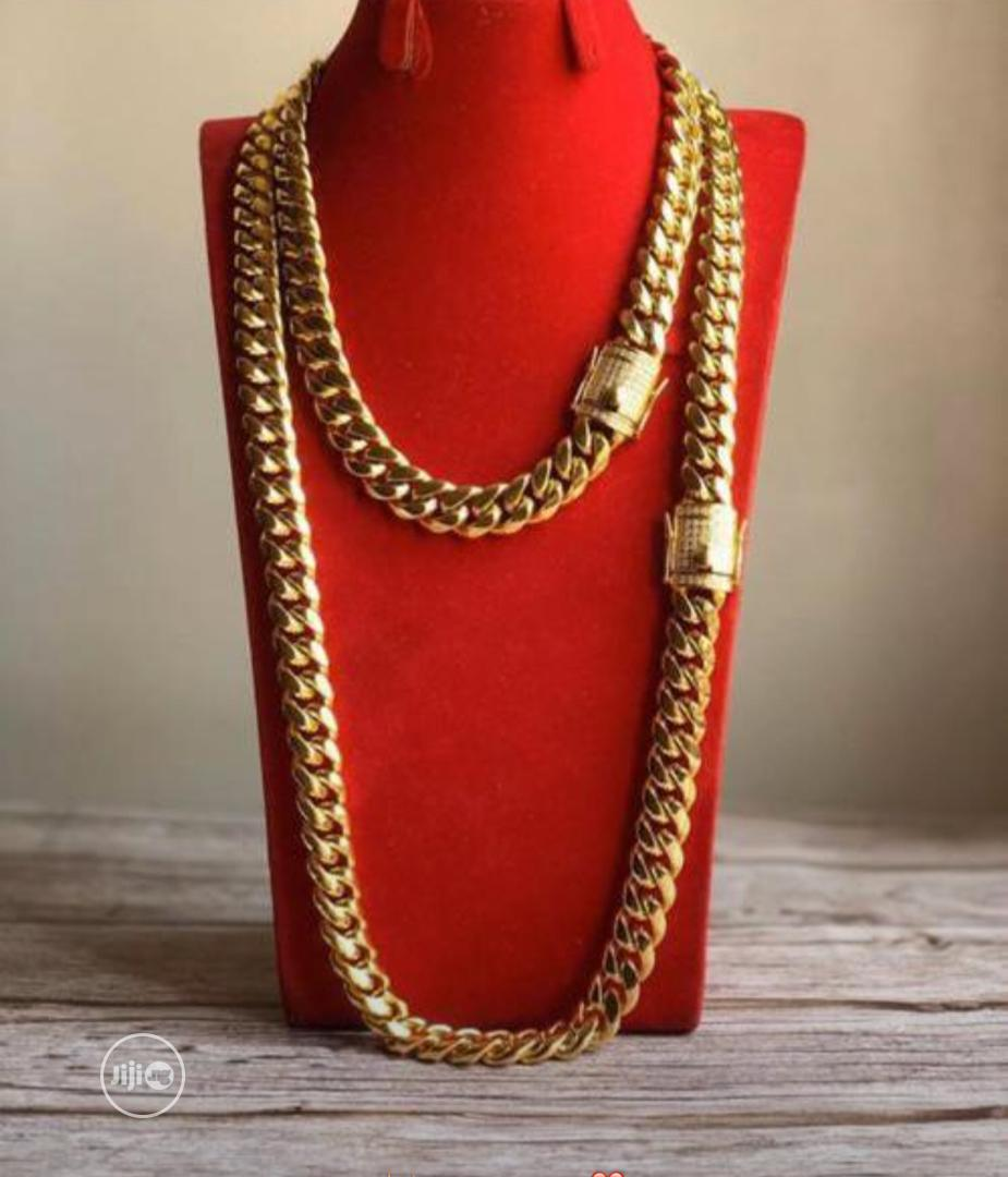 Curban Gold Necklace
