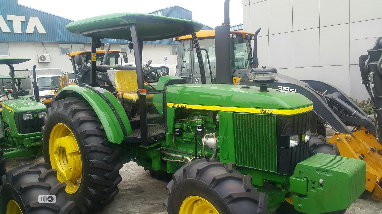 Archive: 6110B (110HP) John Deere Tractor