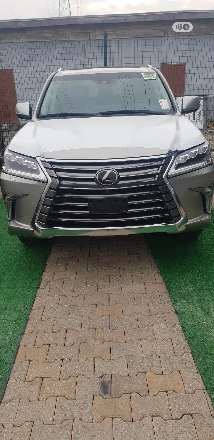 New Lexus LX 2020 570 Two-Row Gold