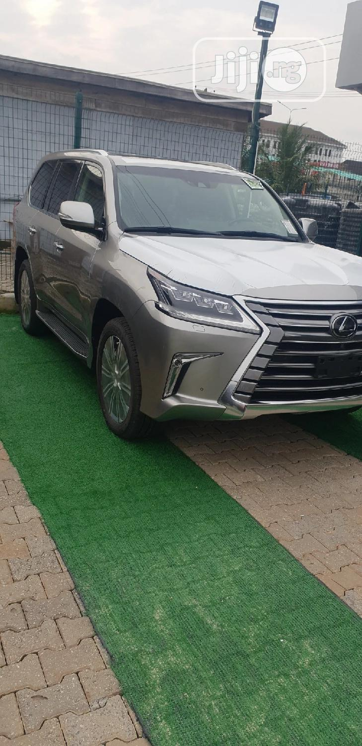 New Lexus LX 2020 570 Two-Row Gold | Cars for sale in Lekki, Lagos State, Nigeria