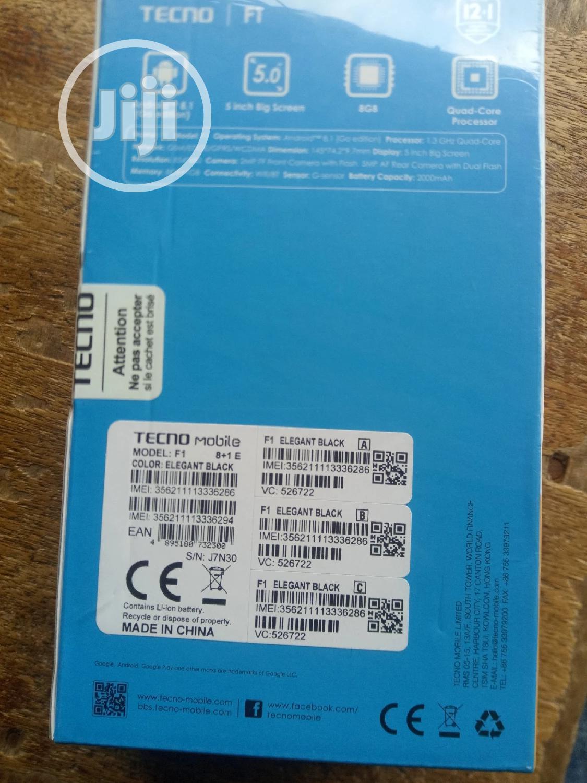 New Tecno F1 8 GB Blue | Mobile Phones for sale in Ikeja, Lagos State, Nigeria