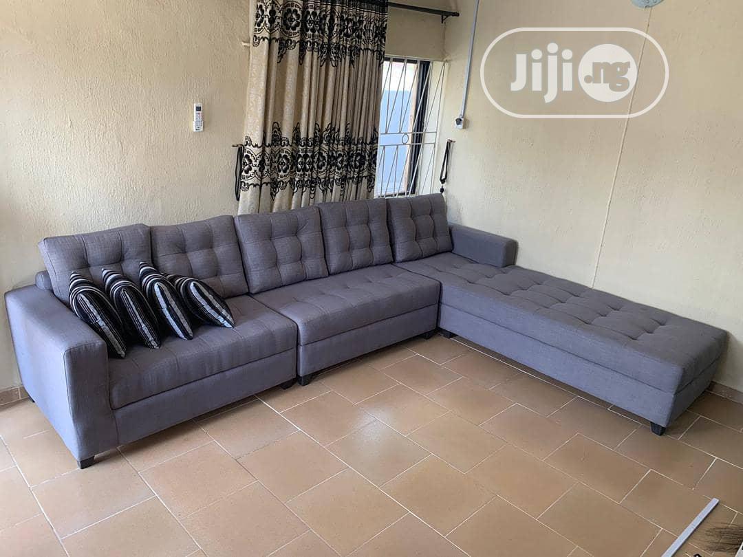 L Shape Sofa   Furniture for sale in Ojo, Lagos State, Nigeria
