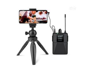 Wireless Lapel Lavalier Microphone for Camera and Phone   Audio & Music Equipment for sale in Lagos State, Ajah