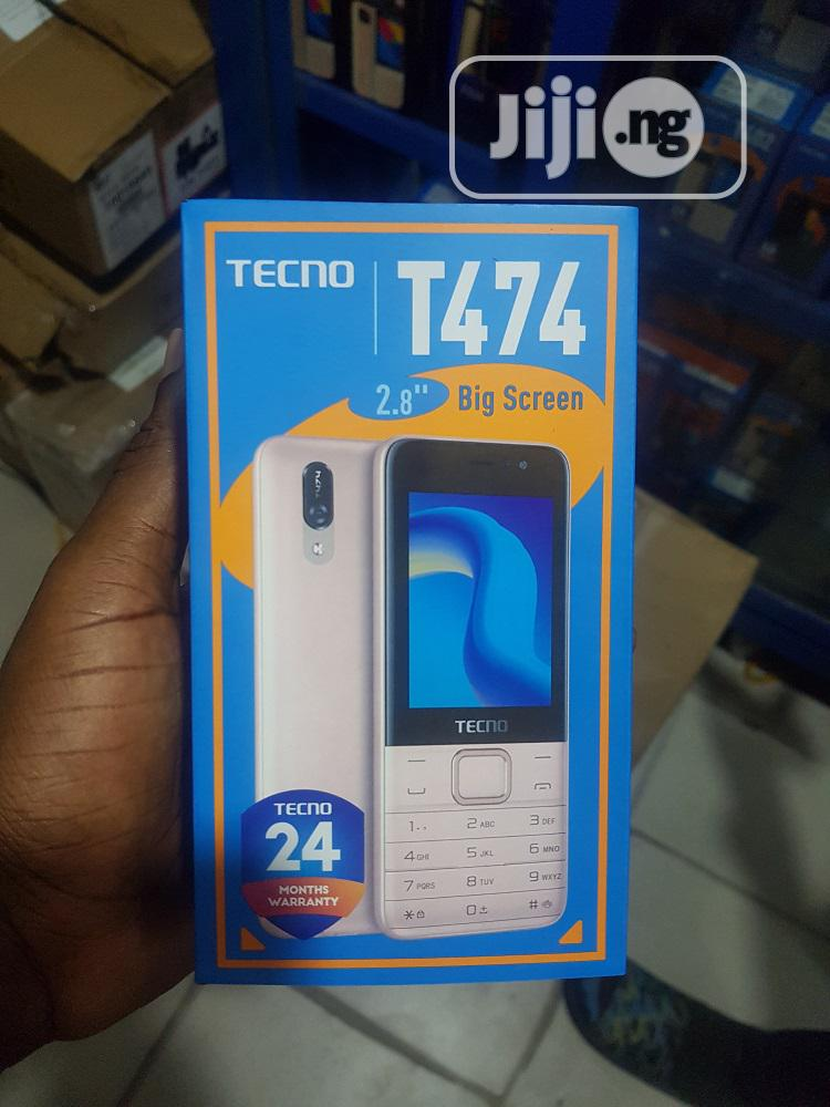 New Tecno T474 Gold   Mobile Phones for sale in Ikeja, Lagos State, Nigeria