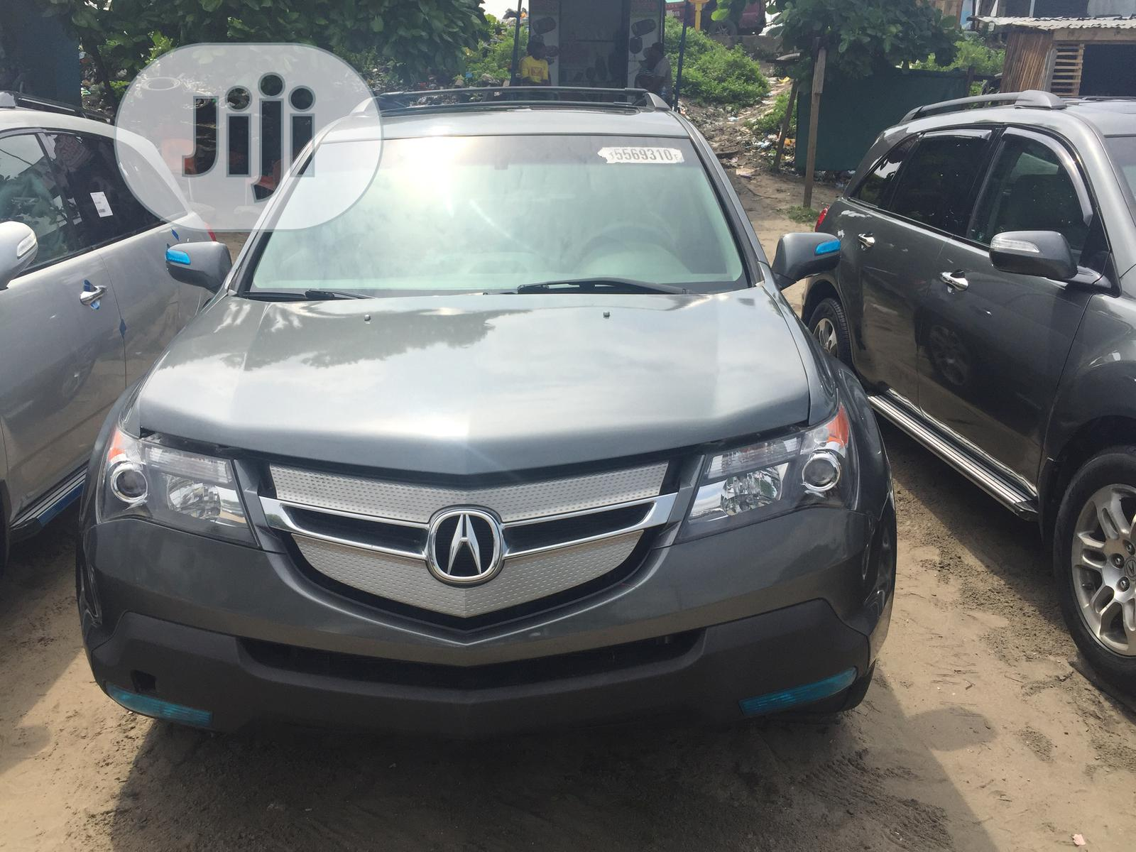 Acura MDX 2008 SUV 4dr AWD (3.7 6cyl 5A) Gray