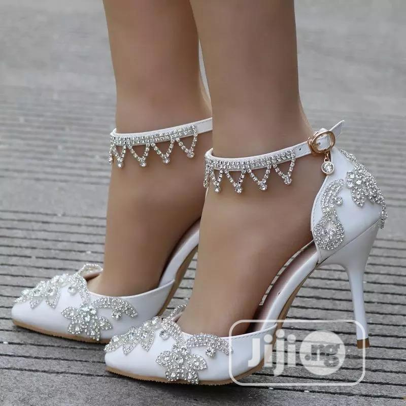 Bridal Shoes Wedding Shoes Party Shoes | Wedding Wear & Accessories for sale in Ikeja, Lagos State, Nigeria