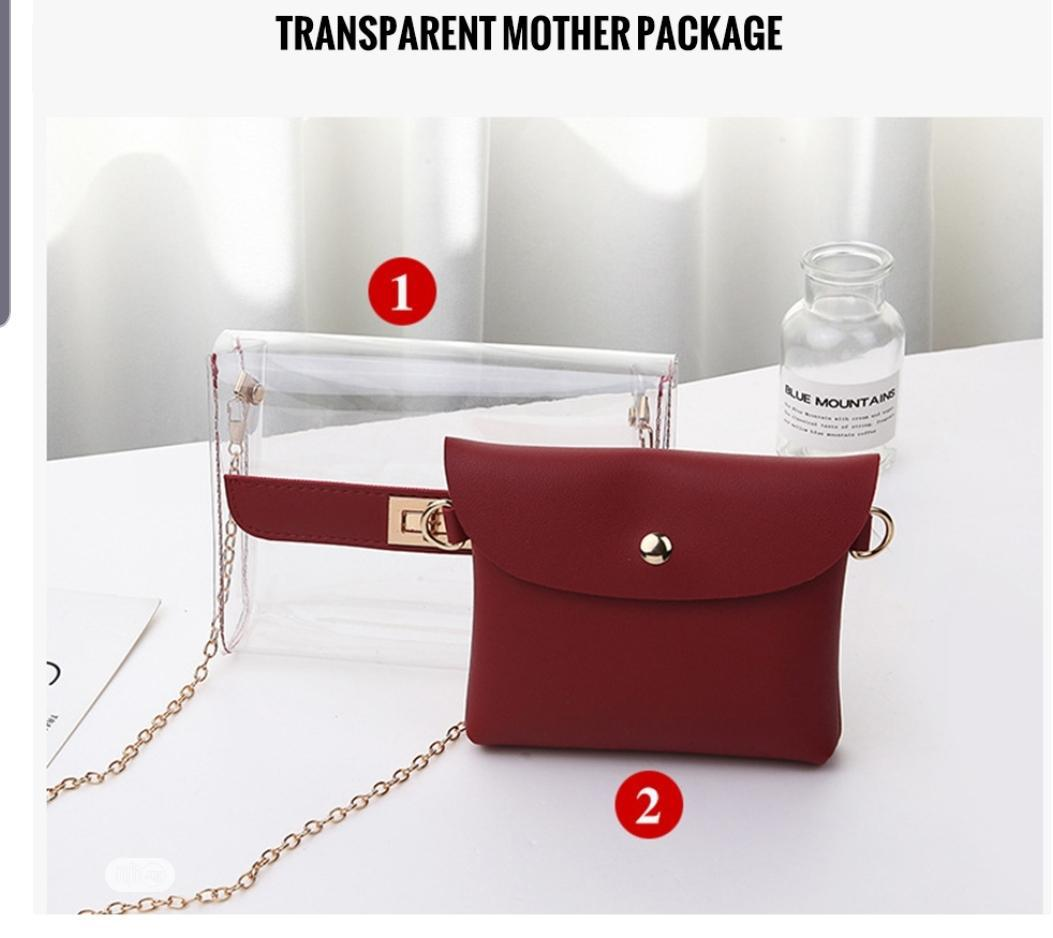 Women Fashionable Transparent Bag | Bags for sale in Lekki, Lagos State, Nigeria