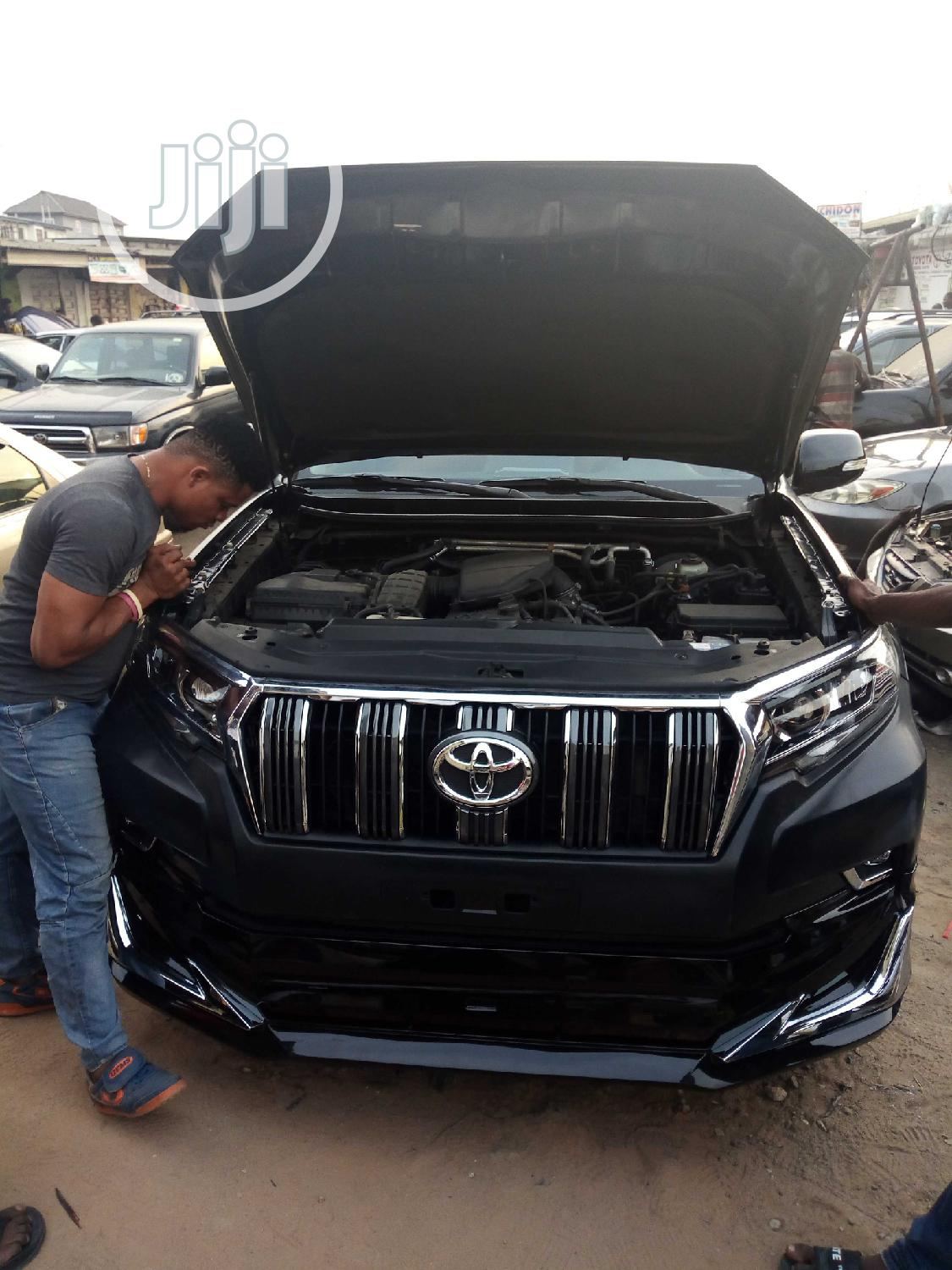 L Can Upgrade Ur Parado Jeep From 2005 To 2018 Model