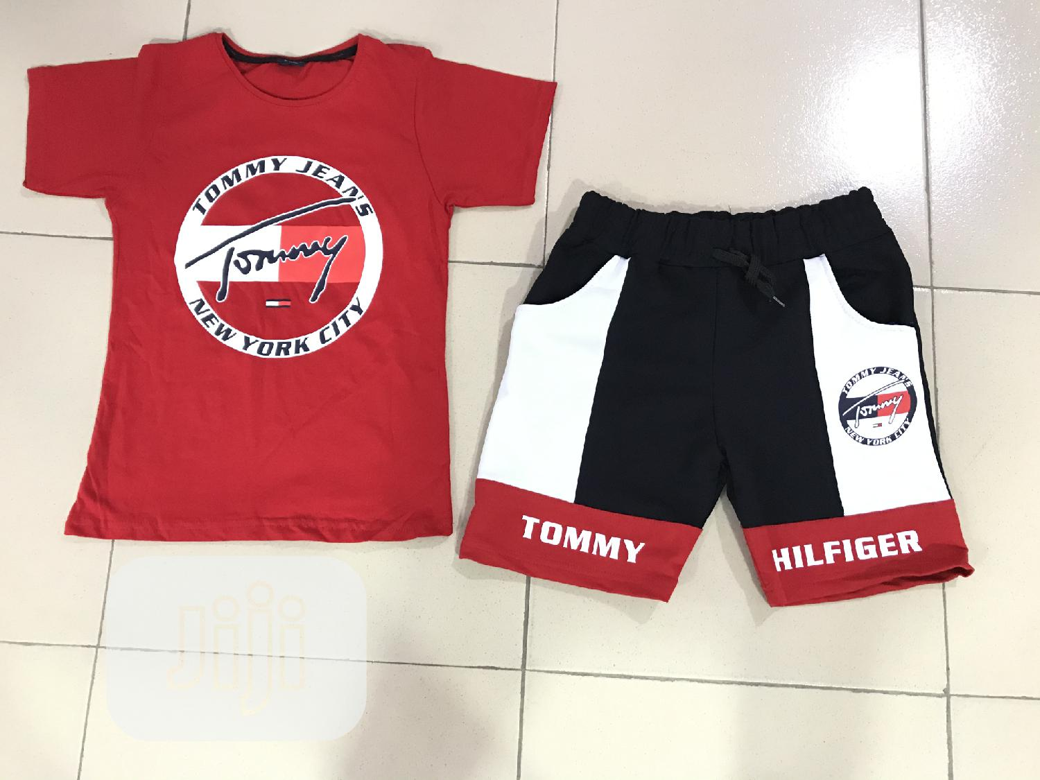 Tommy Hilfiger 2pcs for Boys | Children's Clothing for sale in Ojodu, Lagos State, Nigeria