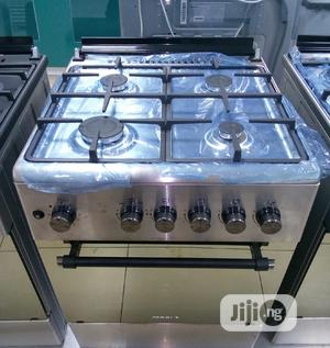 Maxi 4 Gas Ignition Burner With Oven Anti-Rust Top( Turkey)   Kitchen Appliances for sale in Lagos State, Ojo