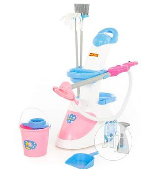 Cleaning Trolley With Vacuum Cleaner   Toys for sale in Lagos State, Ajah