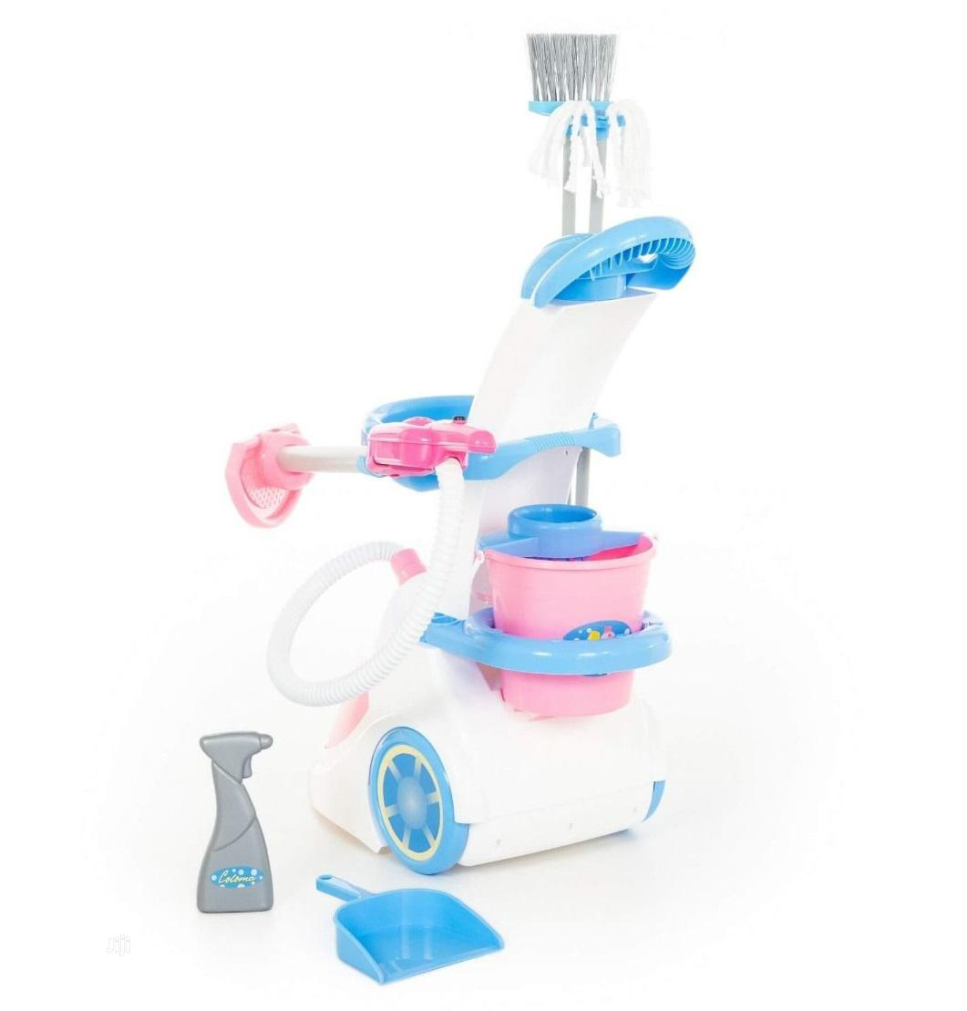 Cleaning Trolley With Vacuum Cleaner   Toys for sale in Ajah, Lagos State, Nigeria