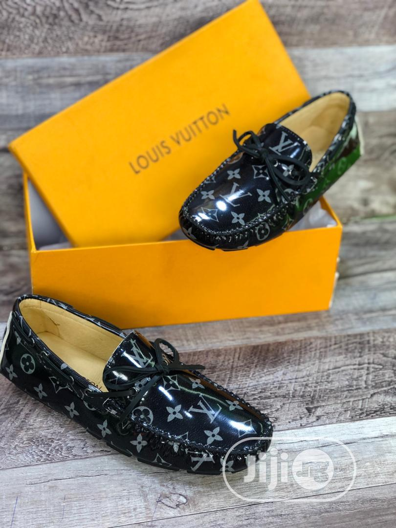 Archive: Louis Vuitton Luxury Men Leather Loafers