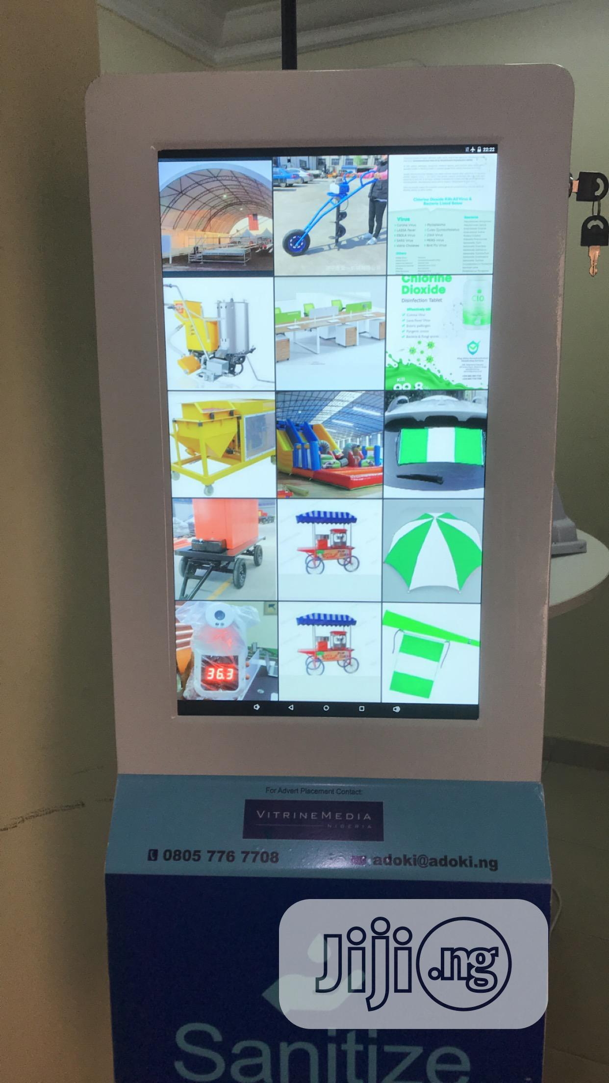 LED Advertising Automatic Hand Sanitizer Machine | Store Equipment for sale in Wuse 2, Abuja (FCT) State, Nigeria
