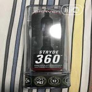 Braven - STRYDE 360 Waterproof Bluetooth Speaker - Black | Audio & Music Equipment for sale in Lagos State, Ikeja