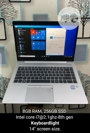 Laptop HP EliteBook 840 G5 8GB Intel Core I7 SSD 256GB | Laptops & Computers for sale in Lagos State, Ikeja