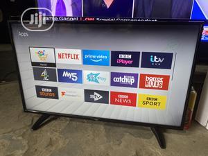 Bush 43inch 4K Uhd Hdr Smart LED TV   TV & DVD Equipment for sale in Lagos State, Ojo