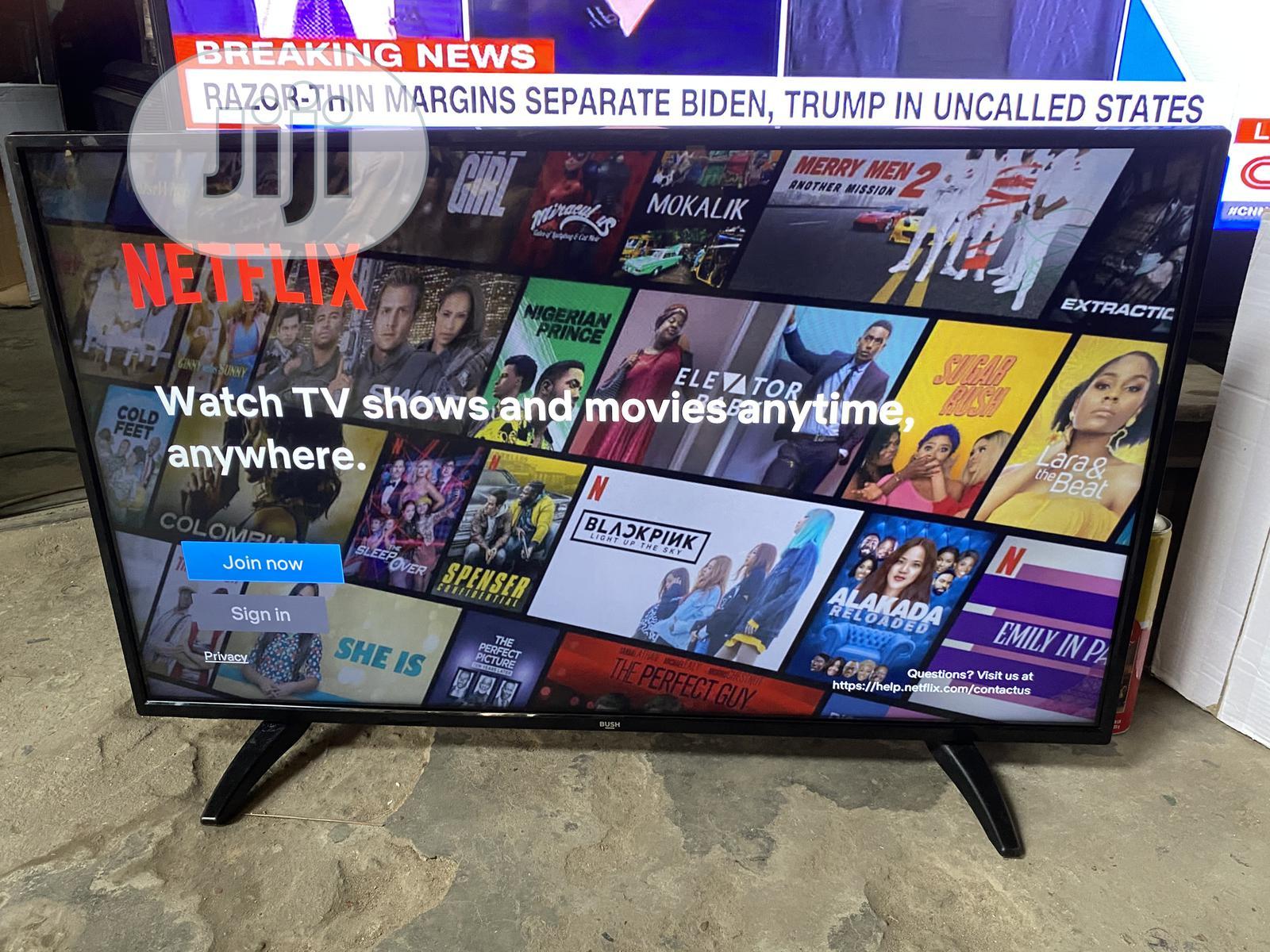 Bush 43inch 4K Uhd Hdr Smart LED TV | TV & DVD Equipment for sale in Ojo, Lagos State, Nigeria