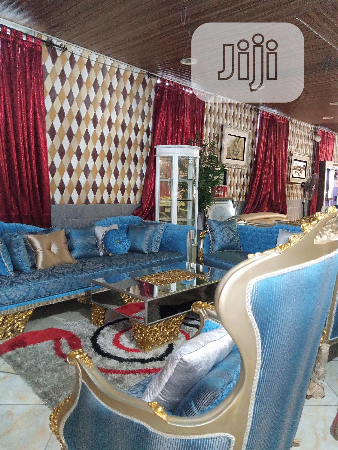 Elegant Turkish Royal Chair By 7 | Furniture for sale in Ikeja, Lagos State, Nigeria