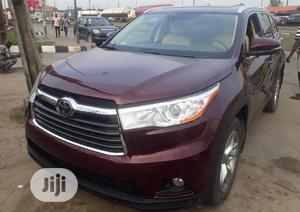Toyota Highlander 2016 Red | Cars for sale in Lagos State, Surulere