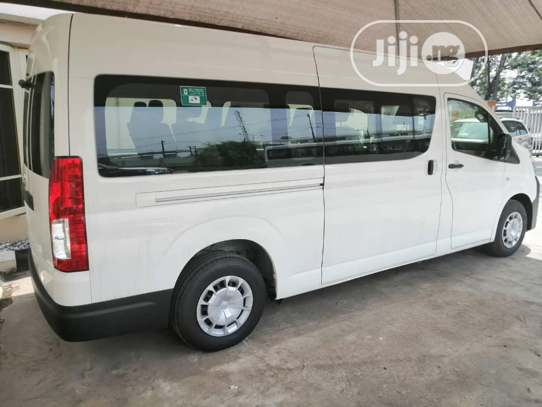 Brand New Toyota Hiace 2020 White Manual Transmission Bus