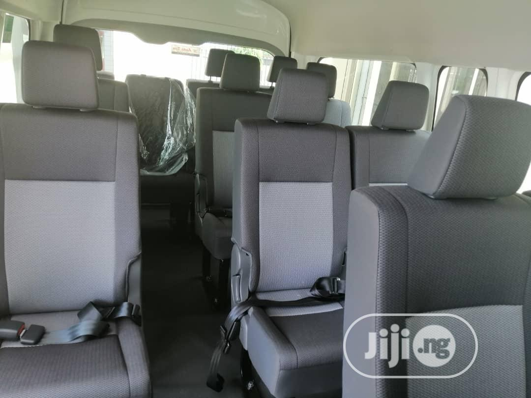Brand New Toyota Hiace 2020 White Manual Transmission Bus   Buses & Microbuses for sale in Maryland, Lagos State, Nigeria