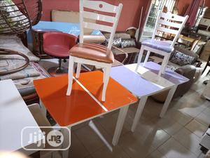 Super Quality Set of Adjustable Dinning Table With 4 Chairs   Furniture for sale in Kano State, Kano Municipal