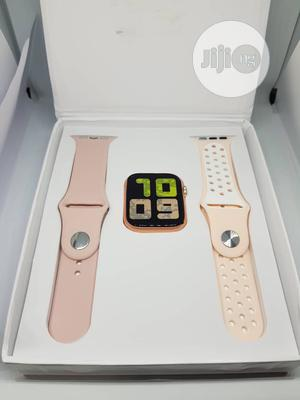 Smartwatch T55 Bluetooth Heart Rate Fitness Blood Pressure | Smart Watches & Trackers for sale in Lagos State, Ajah