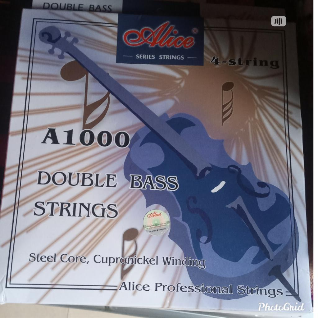 Double Bass Strings For Double Bass Guitar