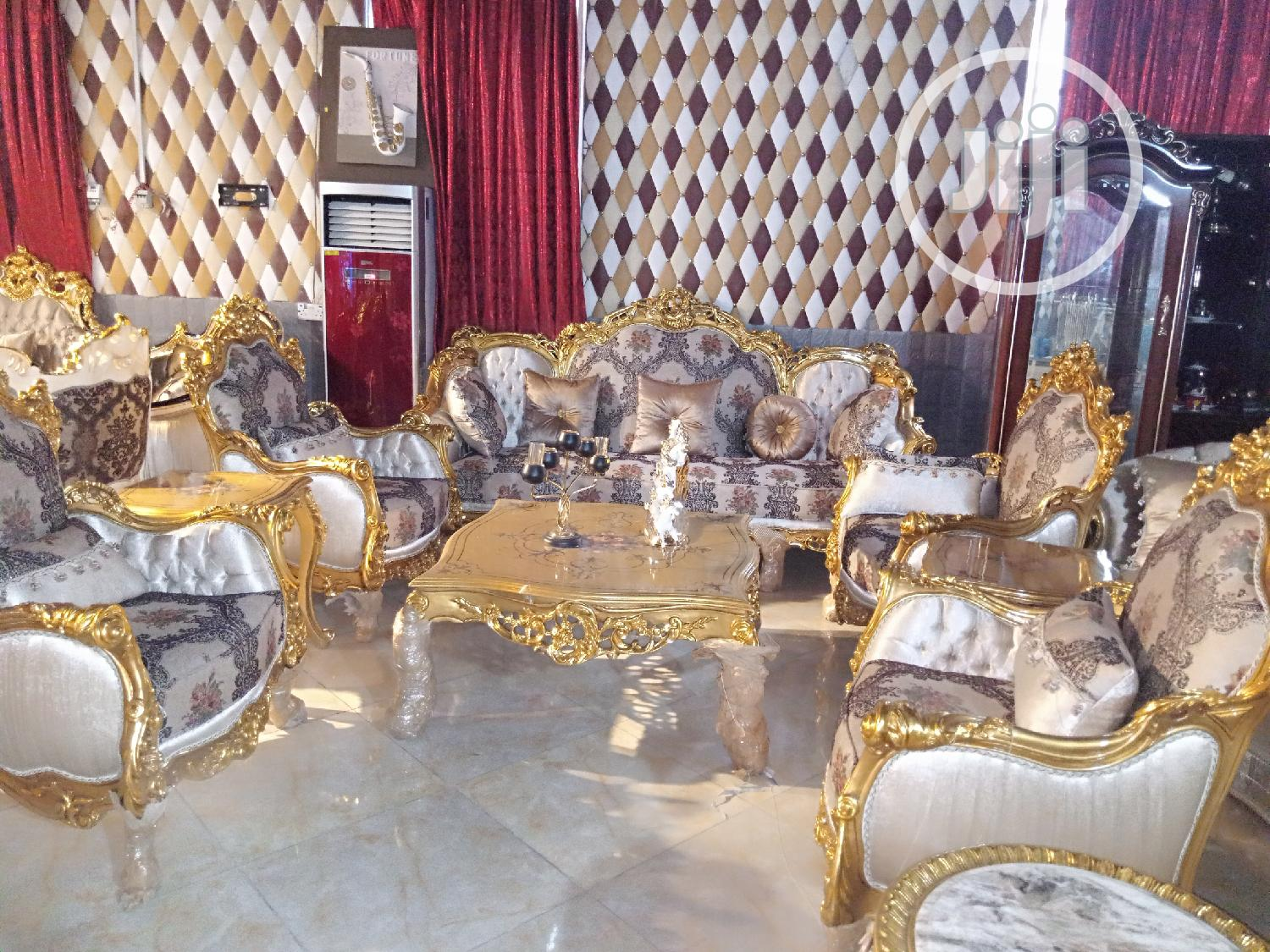 Turkish Royal Golden Chair By 7