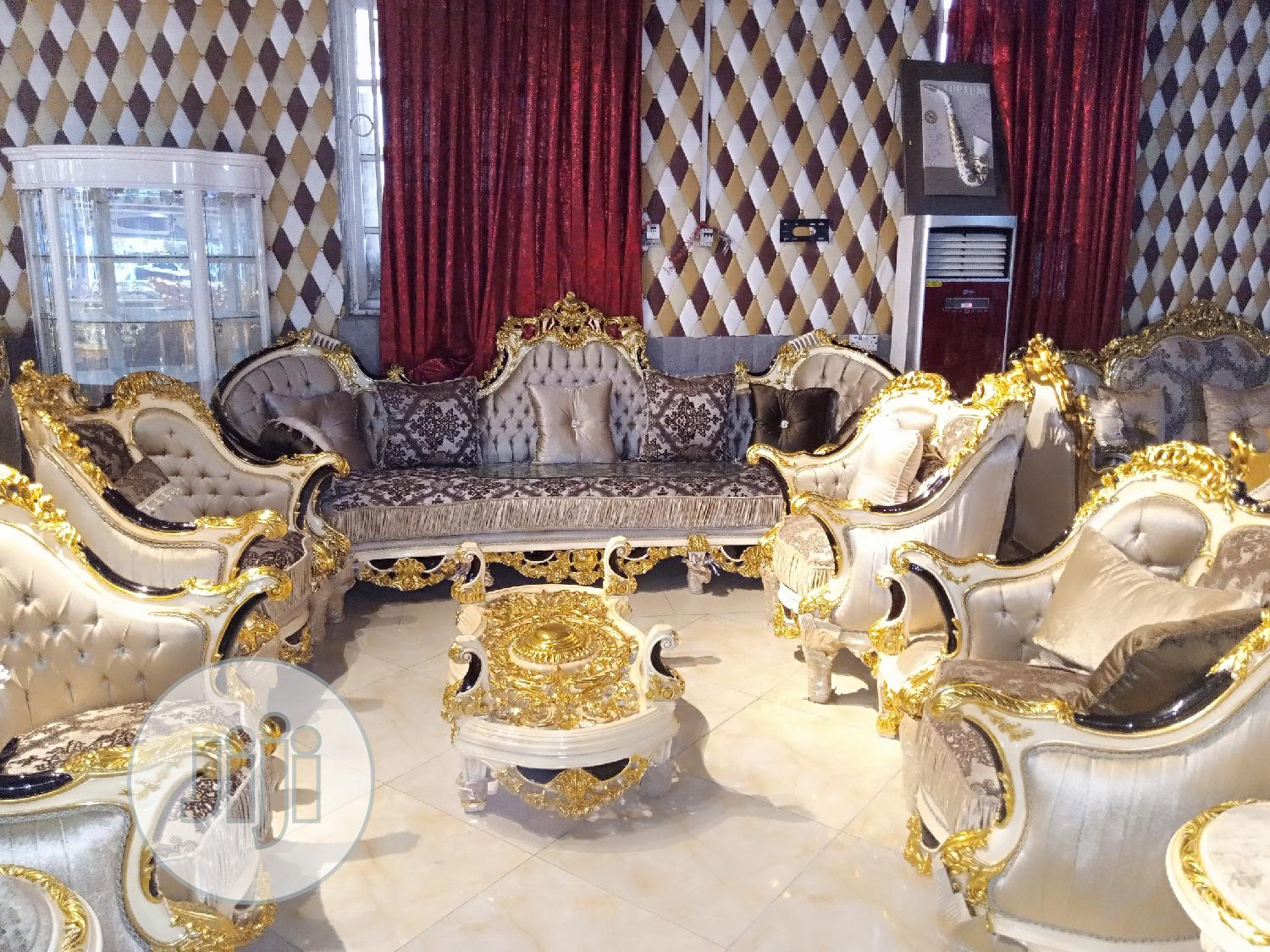 Lovely And Elegant Royal Golden Sofa By 9