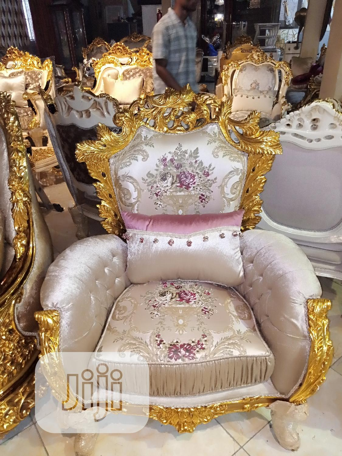 7 Seater Royal Turkish Chair | Furniture for sale in Maryland, Lagos State, Nigeria