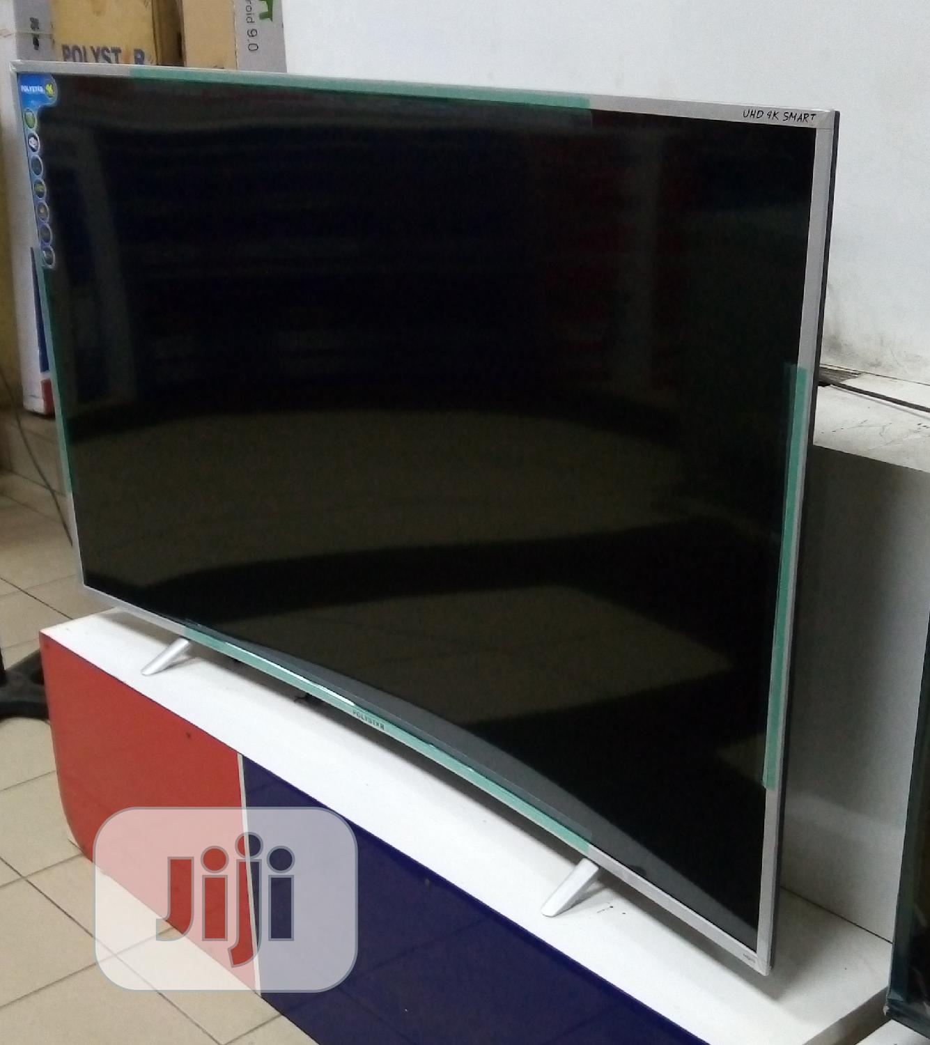 "2020>Made Polystar Curved 65"" Uhd Smart 4K TV (Netflix) 