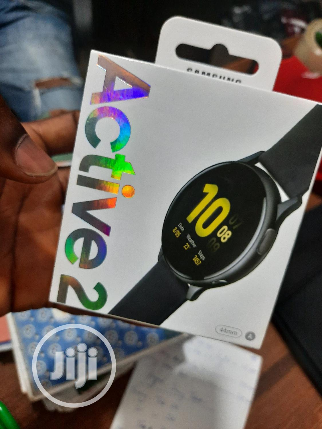 New Samsung GALAXY Watch Active2 44mm Aluminum   Smart Watches & Trackers for sale in Ikeja, Lagos State, Nigeria