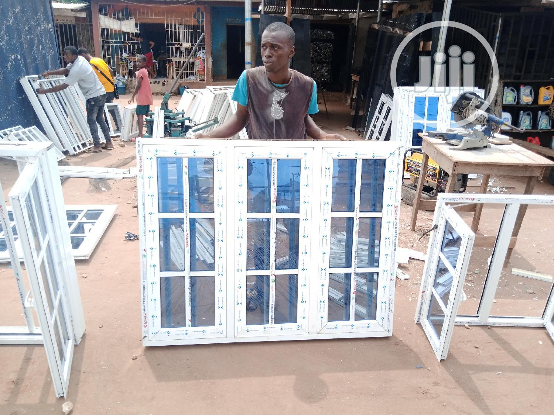 Casement Window With Protector   Windows for sale in Benin City, Edo State, Nigeria