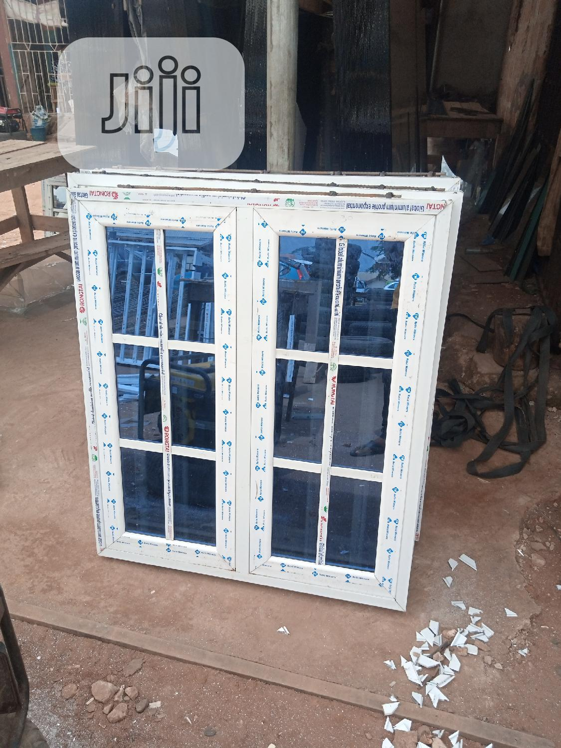 Casement Window With Protector