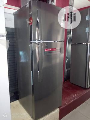 ✓ LG 257 L Smart Inverter Double Door Top Freezer And Fridge   Kitchen Appliances for sale in Lagos State, Ojo