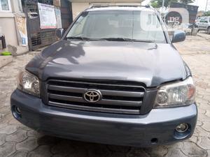 Toyota Highlander 2006 Limited V6 4x4 Blue | Cars for sale in Rivers State, Port-Harcourt